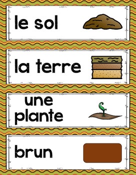 FRENCH SOIL AND ENVIRONMENT UNIT - GRADE 3 SCIENCE (LE SOL ET L'ENVIRONNEMENT)