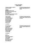 French Song Activity- Jenifer present, past, and imparfait verbs