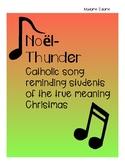 French Song-Noel (Thunder-Imagine Dragons)
