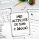 French Sound Activities Bundle #3 / Les activités sur les sons