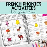 French Sound Activities: ch / Les activités sur les sons: ch