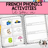 French Sound Activities: ui / Les activités sur les sons: ui