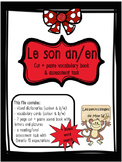 French Sound Blend ''AN/EN'' activity pack - le son an/en