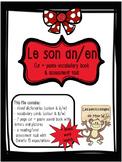 French Sound Blend ''AN/EN'' activity pack - le son an/en