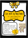 French Sound Blend ''O/AU/EAU'' activity pack - le son o/au/eau