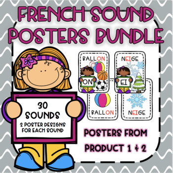 French Sound Poster Bundle