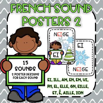 French Sound Posters 2/ Les Sons Français 2