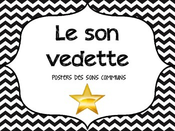 French Sound Posters - Les sons vedettes