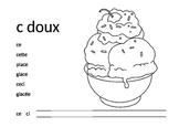 French Sound Sheet - c doux