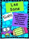 "French Sounds Activity Booklet - ""qu/que"""