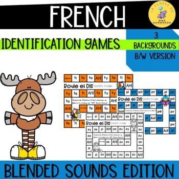 French Sounds Reading Games I Roule et Dis