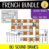 French Sounds Reading Games Bundle I Roule et Dis Bundle