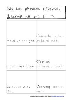 Cahier: Étude de la lettre R (Lecture, Écriture, Centres, Jeux, Phonétique)