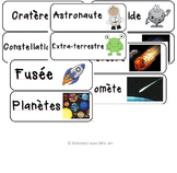 French Space Word Wall