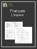 French - Space - l'espace