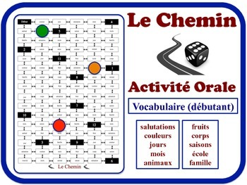 French Speaking Activity for Novice Students (Mid to High). Quick Set-Up