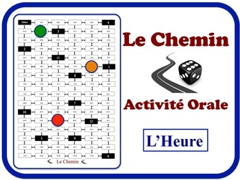 French Time Speaking Activity. Quick Set-Up