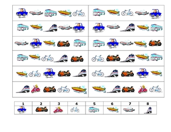 French Speaking Activity to Practice Transportation