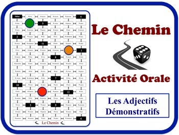 French Demonstrative Adjectives Speaking Activity. Quick Set-Up