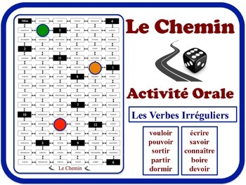French Irregular Verbs Speaking Activity.  Quick Set-Up, N
