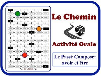 French  Passé Composé (Avoir & Être) Speaking Activity. Quick Set-Up