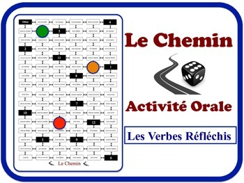 French  Reflexive Verbs Speaking Activity. Quick Set-Up