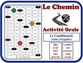 French Conditional (Irregular Verbs) Speaking Activity. Quick Set-Up