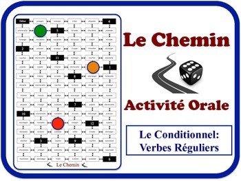 French Conditional (Regular Verbs) Speaking Activity. Quick Set-Up