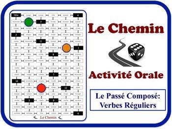 French Passé Composé (Avoir) Speaking Activity. Quick Set-Up, No Prep