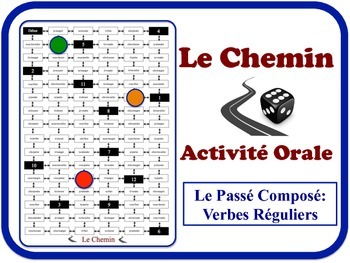 French Passé Composé (Avoir) Speaking Activity. Quick Set-