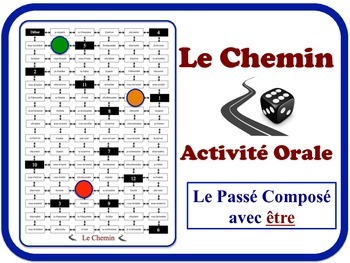 French Passé Composé (Être) Speaking Activity. Quick Set-U