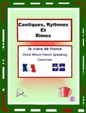 Francophone Countries  - French rap-like Musical Chant with exercises and Mp3