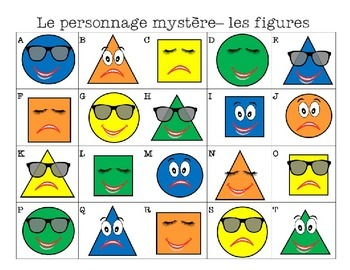 French Speaking Guessing Game:: Le Personnage Mystère- Qui suis-je?