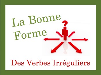 French Irregular Verbs Speaking and Writing Powerpoint Activity
