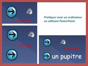 "French Spelling 1/ Les dictees interactives 1:  les voyelles et ""on, oi, ou"""