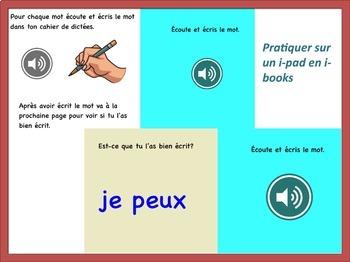 French Spelling / 32 dictées interactives pour apprendre les sons français