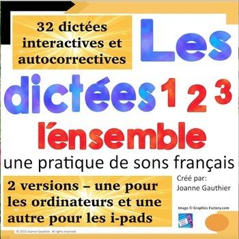 French Spelling / 32 dictées interactives pour apprendre l