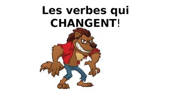 French Spelling Change Verbs