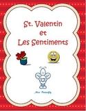 French Spelling - La St. Valentin et Les sentiments