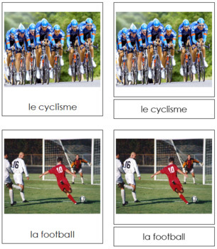 French - Sports Cards