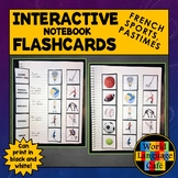 French Sports, Hobbies, Pastimes Flashcards, Interactive N