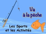 French Sports and Activities Vocabulary Game (Va à la pêche-Go Fish)