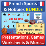 French Sports and Hobbies BUNDLE