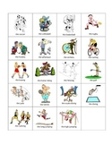 French Sports and Olympic Games Flash Cards