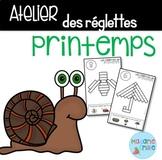 French Spring Cuisenaire rods/ Atelier des réglettes {PRINTEMPS}