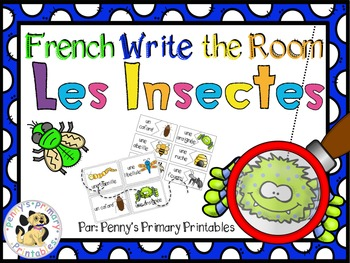 French Spring Math and Literacy Bundle