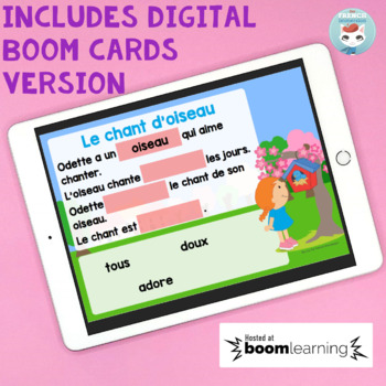 French Spring French Reading Comprehension | Compréhension de lecture PRINTEMPS