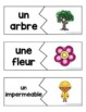 French Spring Vocabulary Game: Casse-têtes (Printemps)