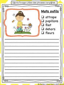 French Spring Writing Bundle