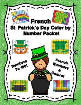 French St. Patrick's Day Hidden Pictures!